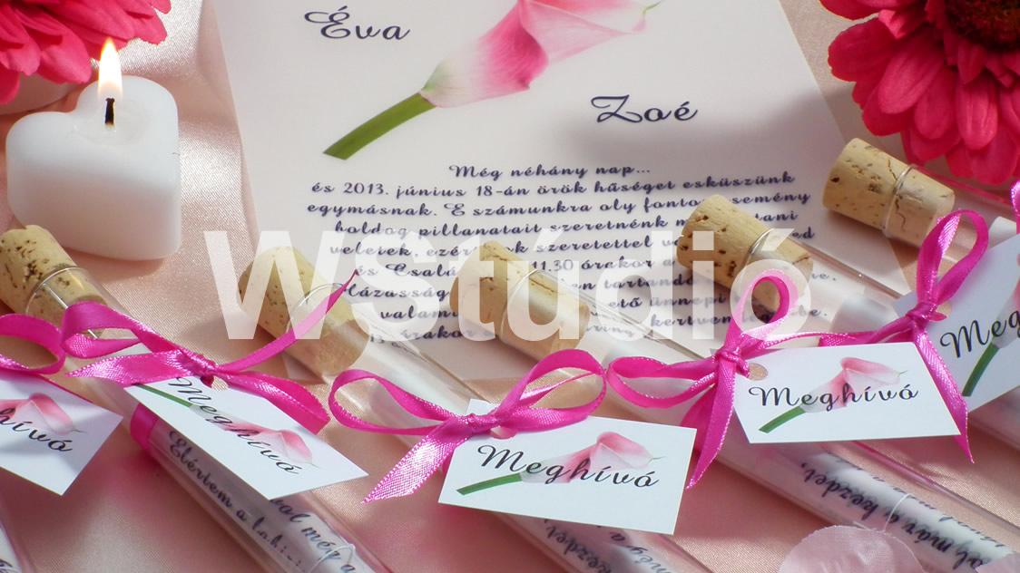 Esküvői meghívó rendelés