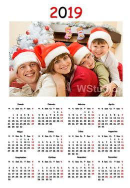 Poszter naptár készítés