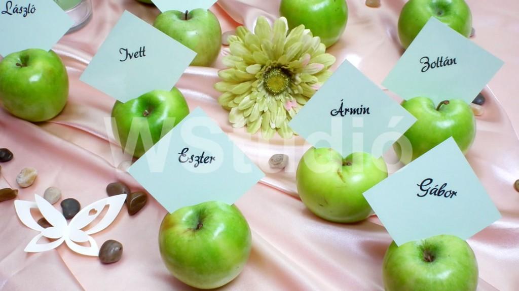 Ültetőkártya alma