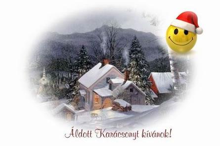 Karácsonyi képeslap készítés