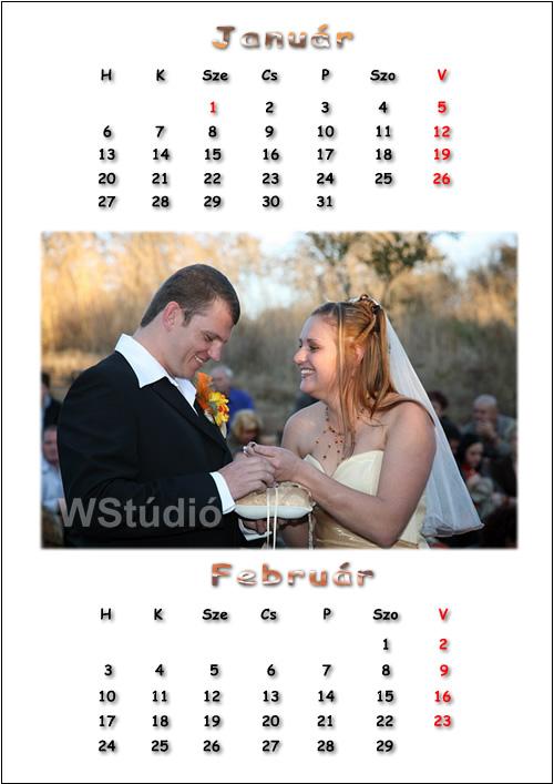 Esküvői naptár