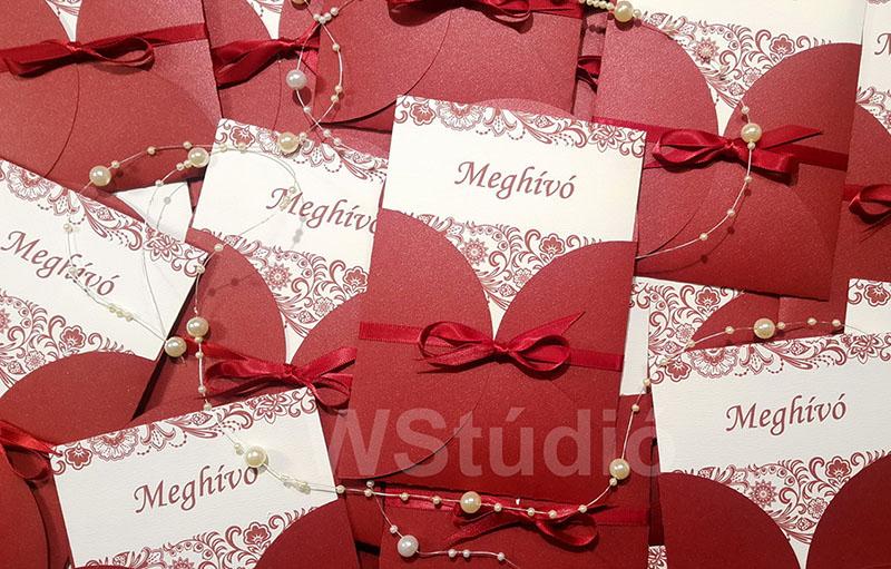 esküvői meghívó árak