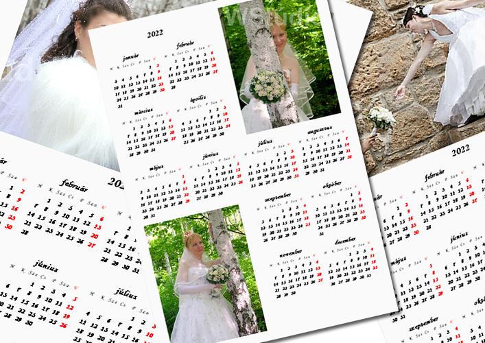 Mágneses naptár